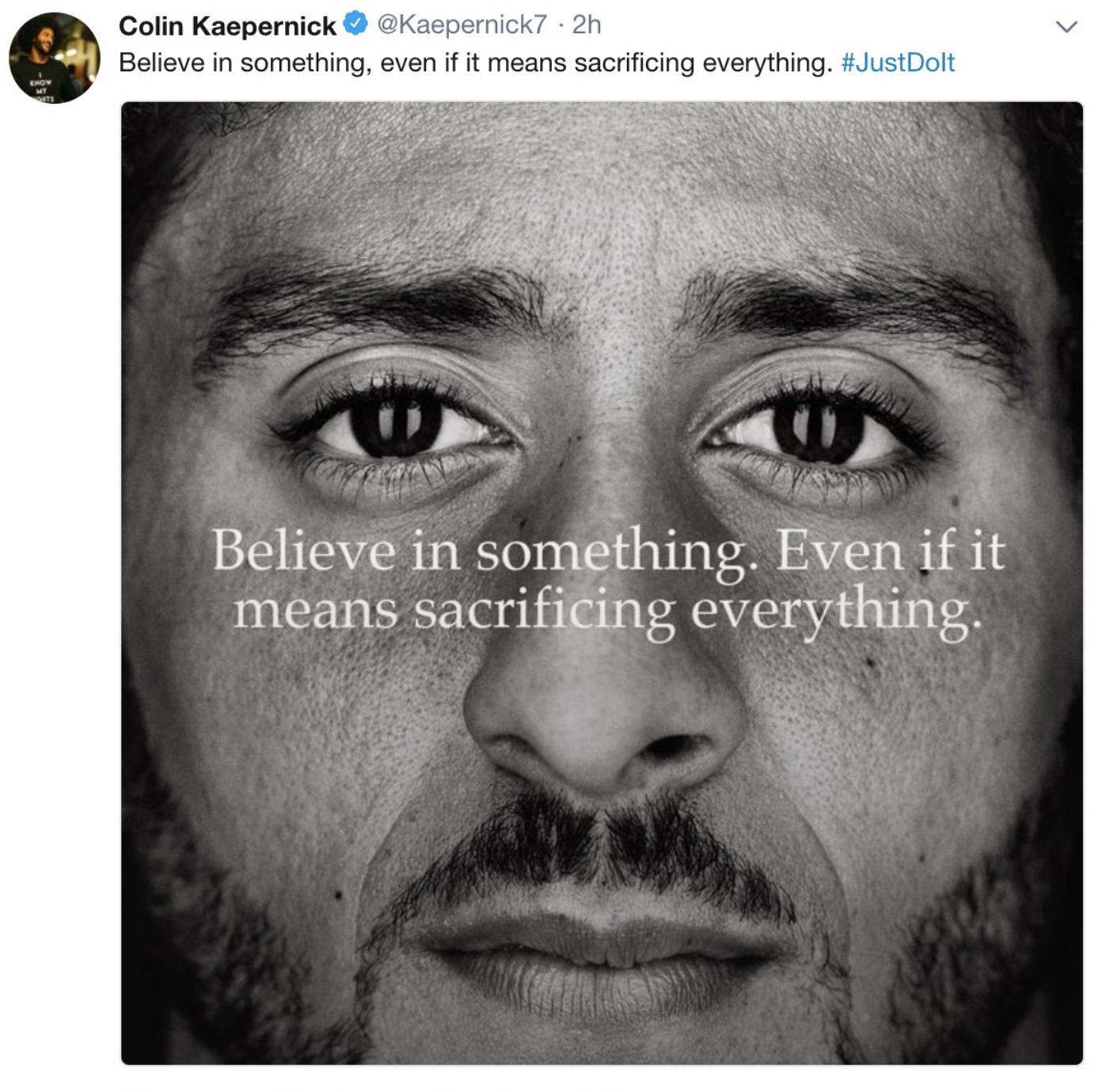 Foto Nike Twitter