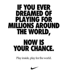 Nike Corona campagne