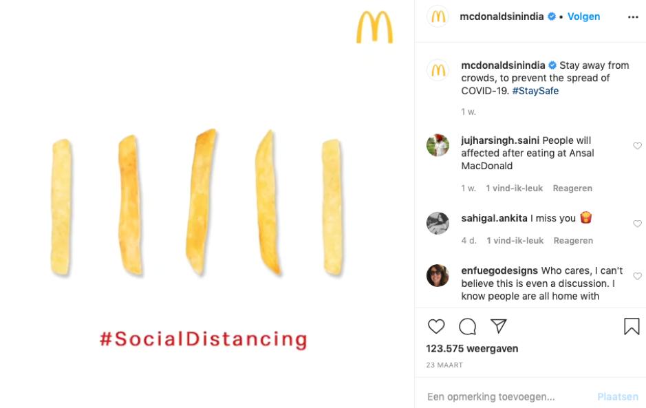 branding corona mcdonalds