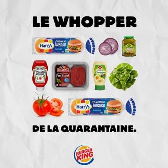 Whopper Corona campagne